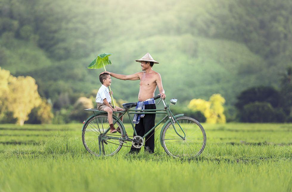 Rowerem przez Kambodżę