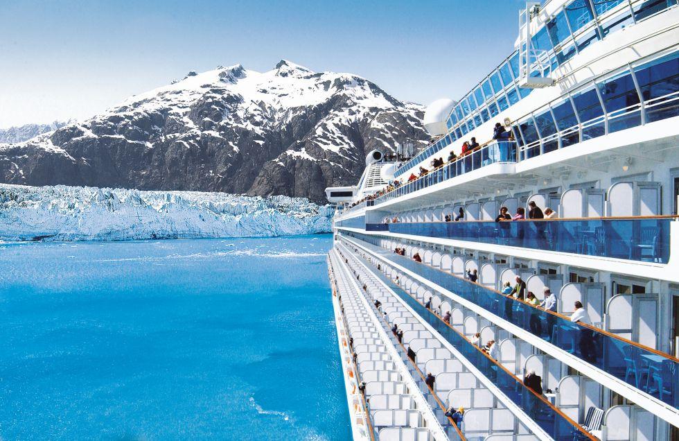 lodowiec, Hubbard Glacier, Alaska, rejs
