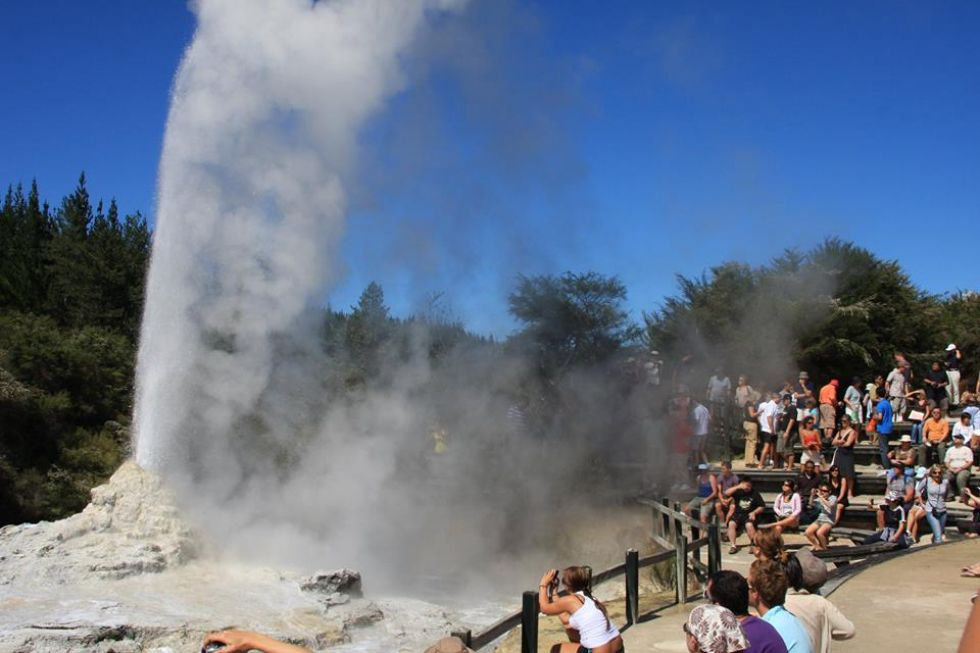 zjawiska geotermalne Nowej Zelandii