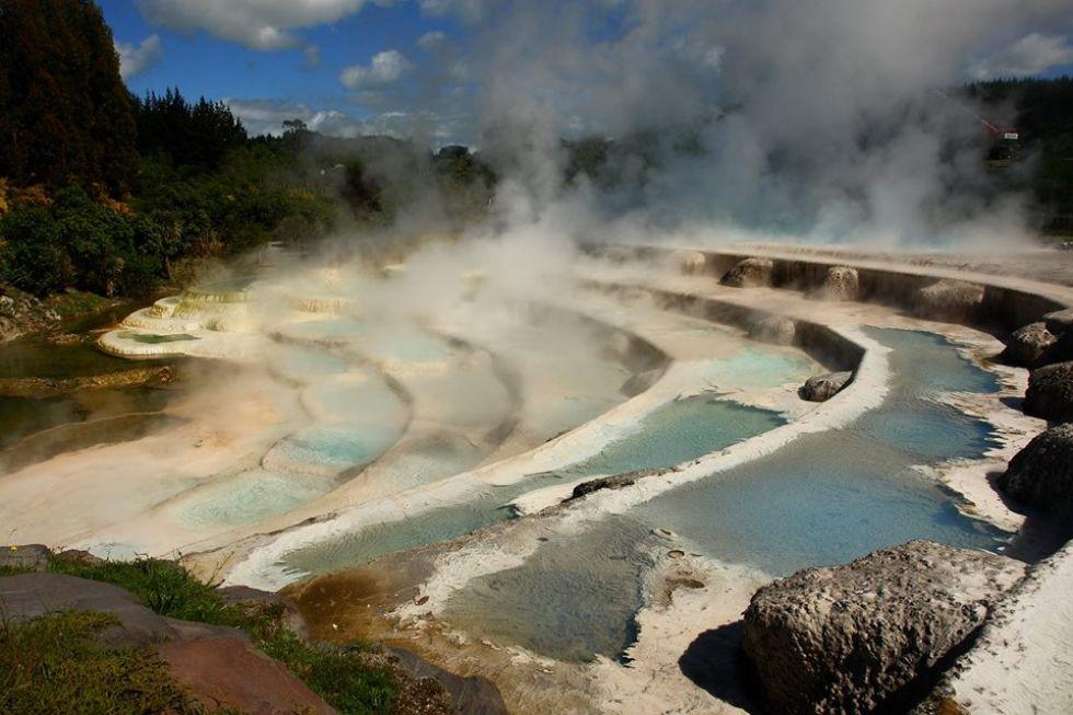 Zjawiska geotermalne na Nowej Zelandii