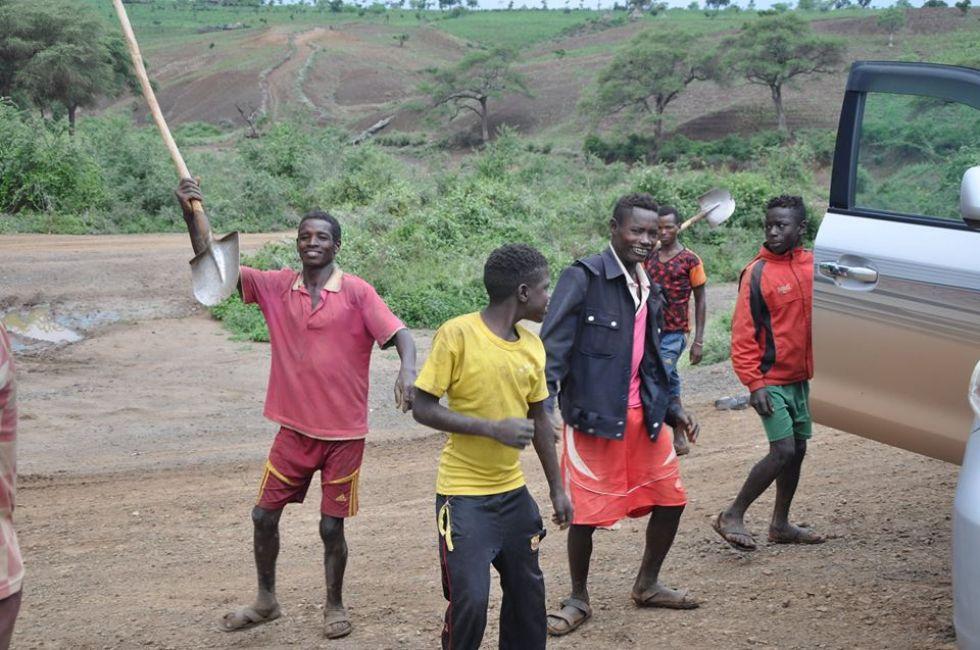 Etiopijska wioska
