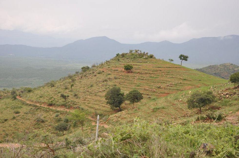 Urokliwe wzgórza Etiopii