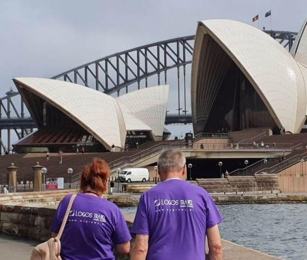 Logos Travel Marek Sliwka w Sydney
