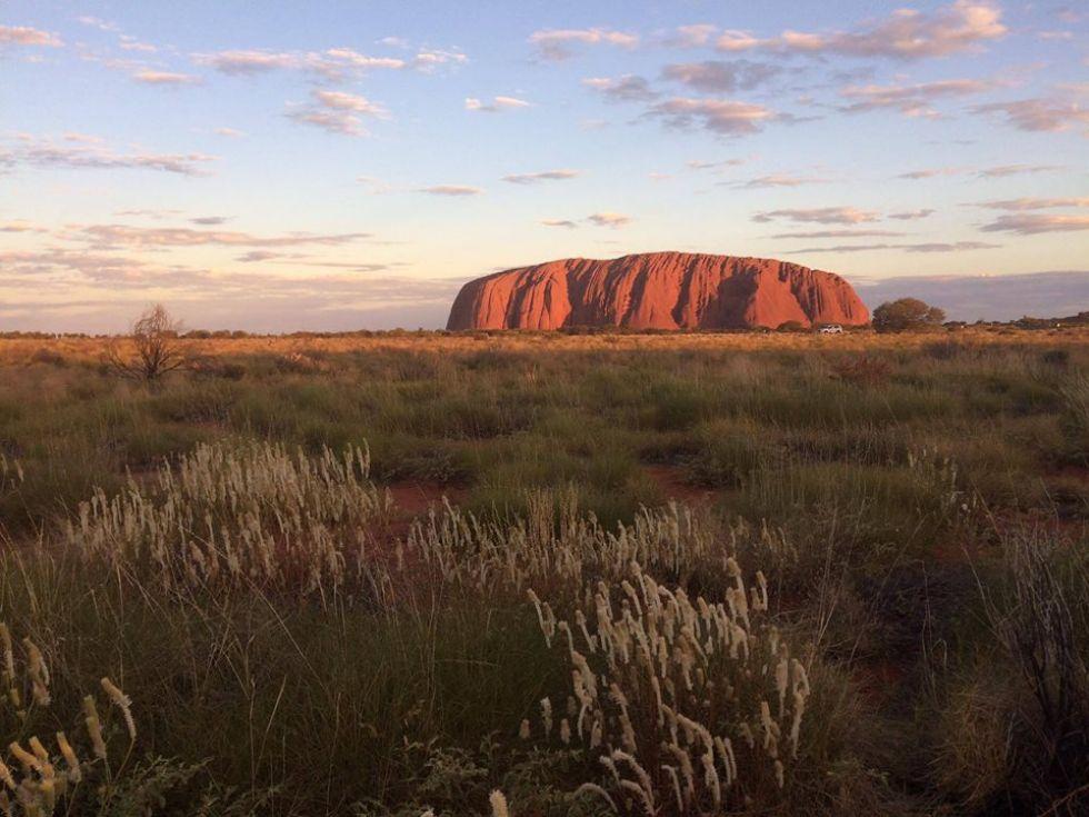 Uluru - święta Góra Aborygenów, jedna z największych atrakcji Australii