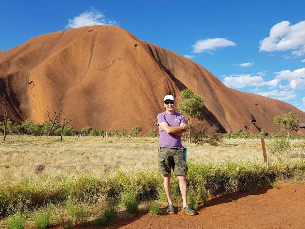 Uluru - jedna z największych atrakcji Australii