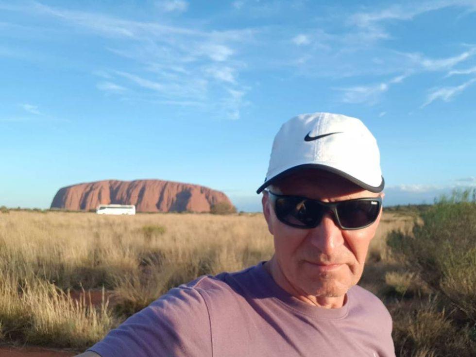 Australia - Uluru - święta góra Aborygenów