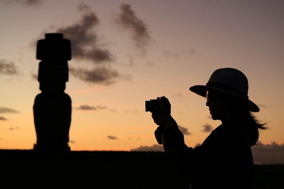moai wyspa wielkanocna