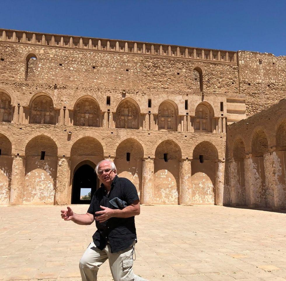 al ukhaid fortress w iraku