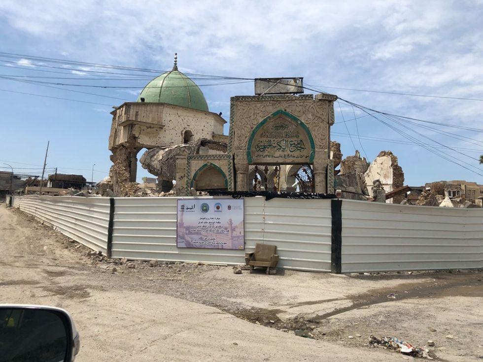 budowle zniszczone przez wojne w iraku