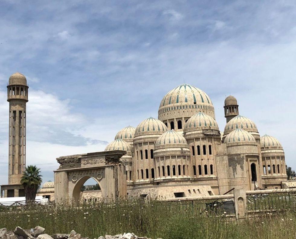 meczet w iraku