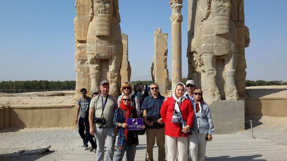 grupa logos travel podczas wyprawy do iranu