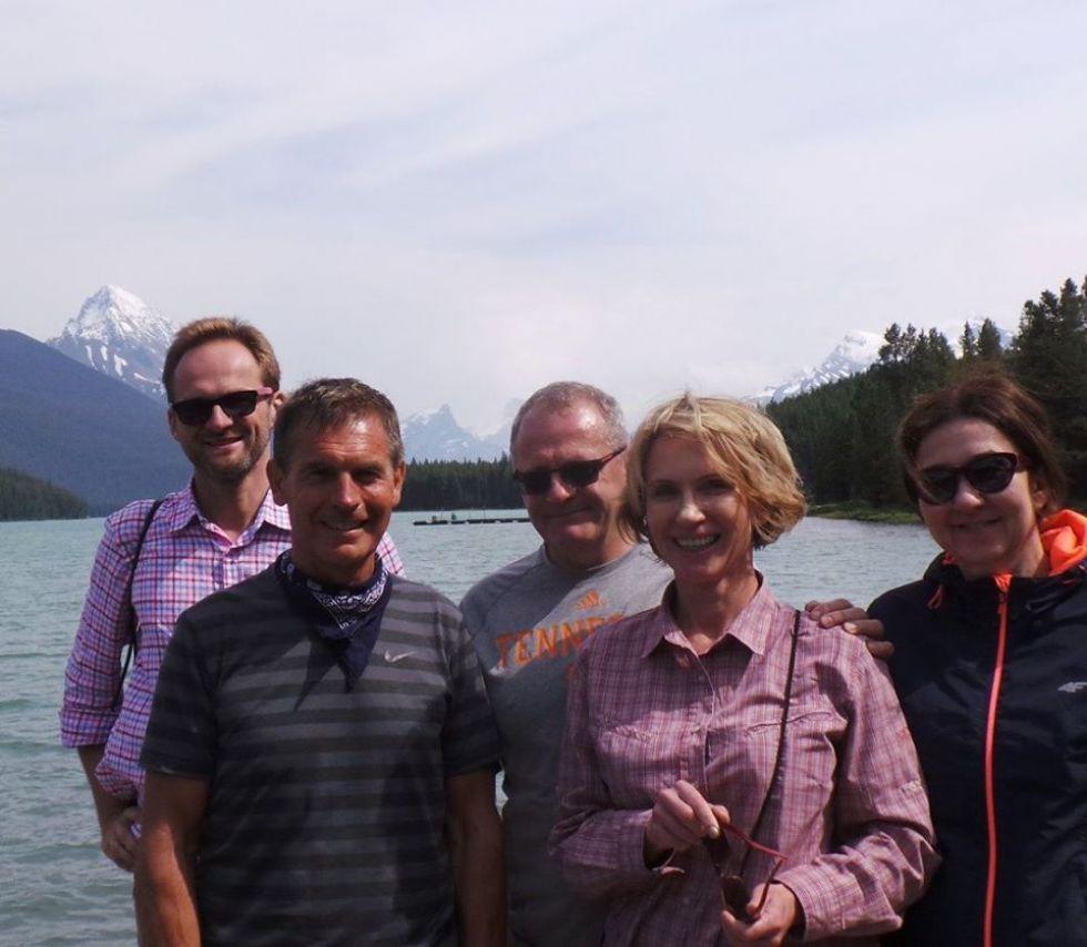 grupa logos travel podczas objazdu kanady i alaski