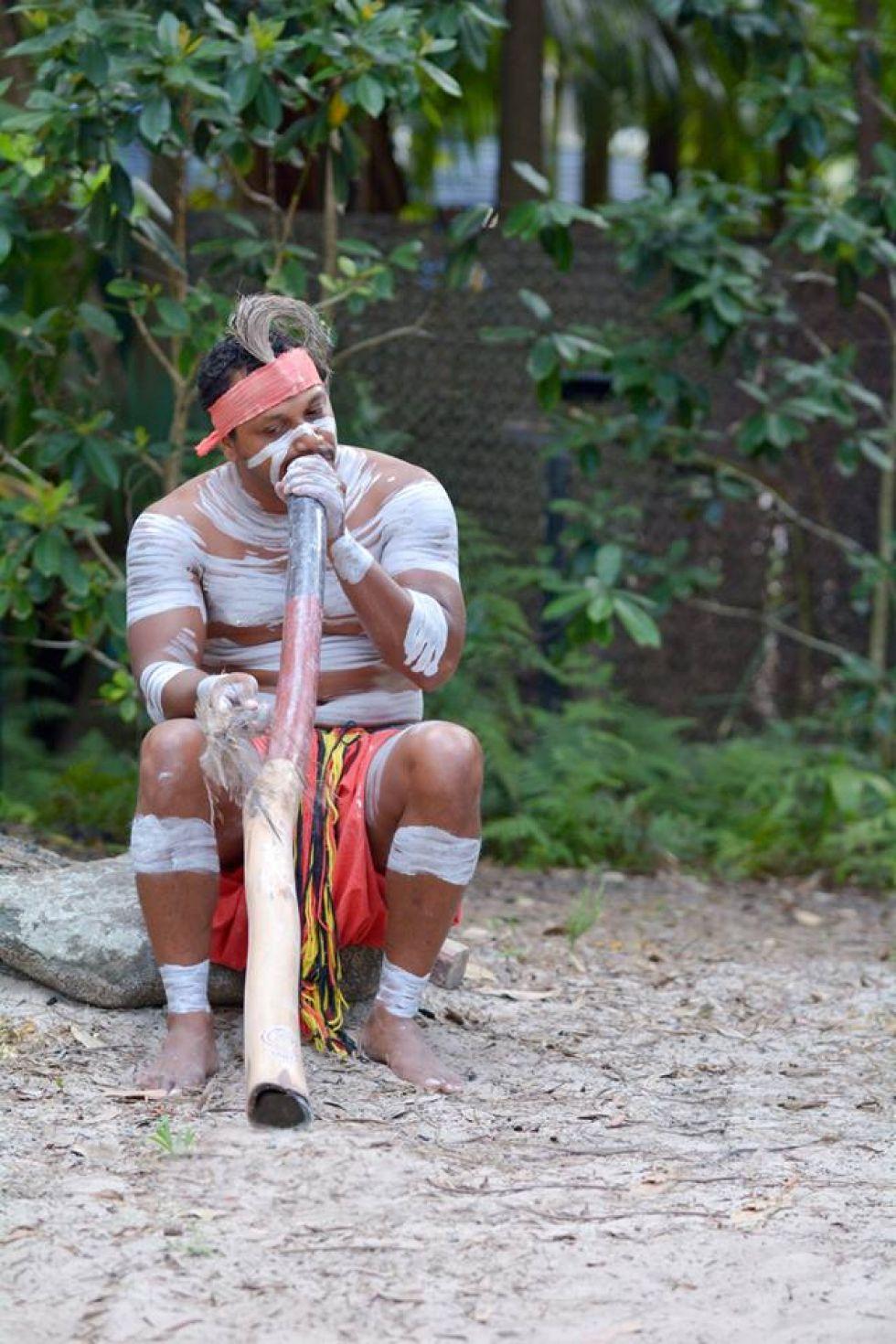 rdzenny mieszkaniec australii aborygen