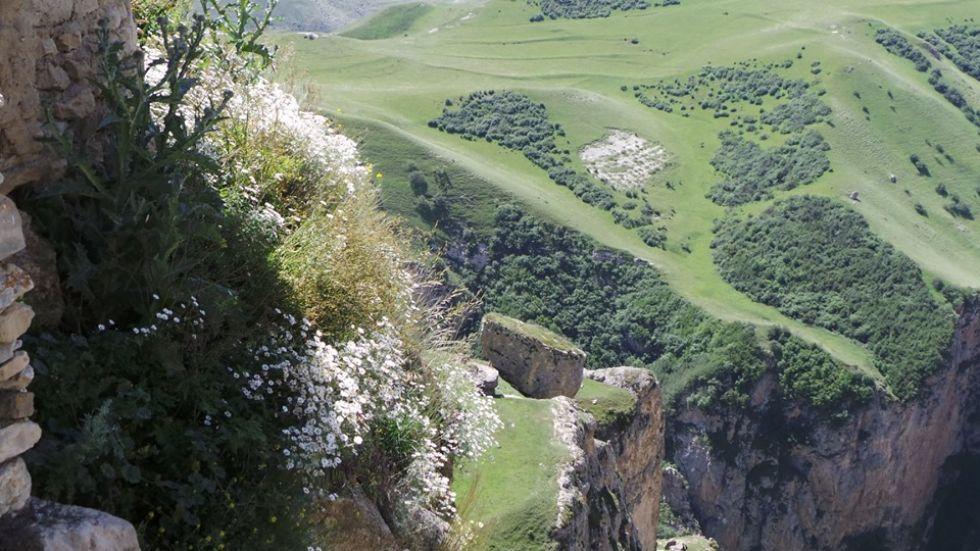 widok na azerbejdzan
