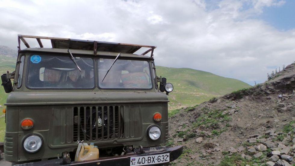 objazd po azerbejdzanie
