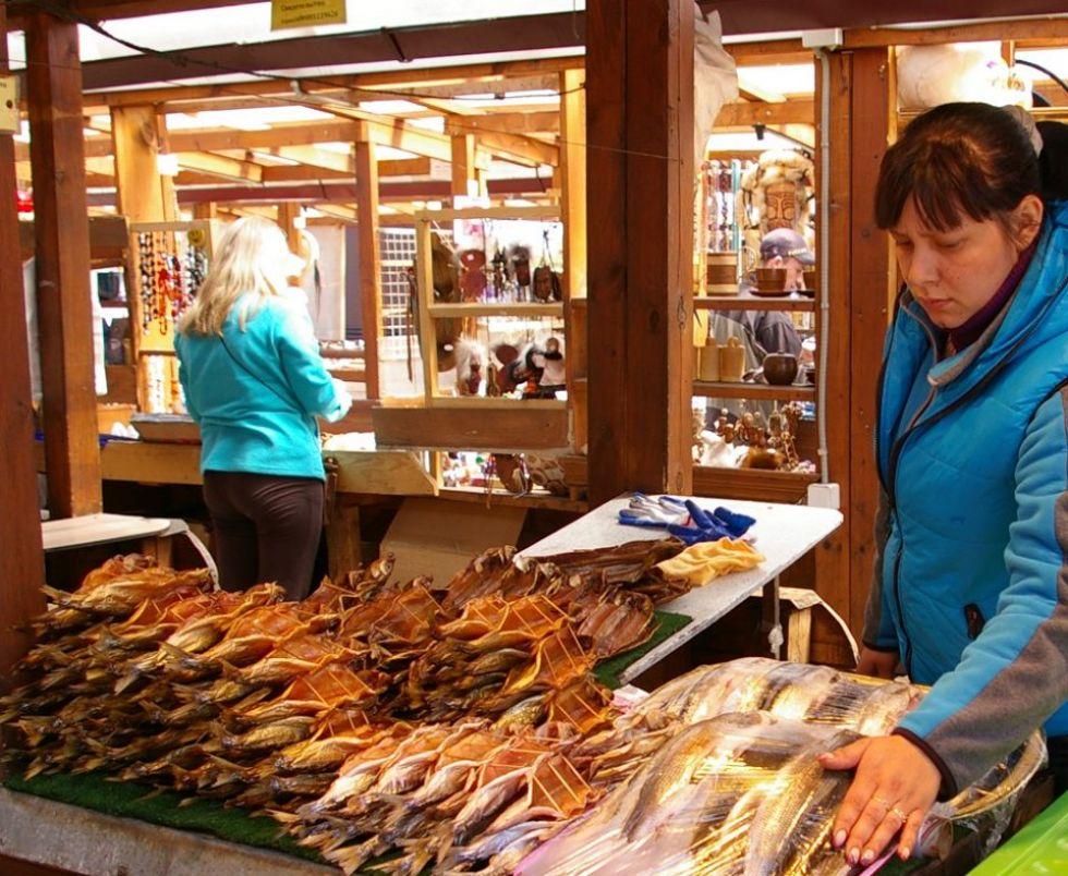 suszone ryby przysmak nad bajkalem