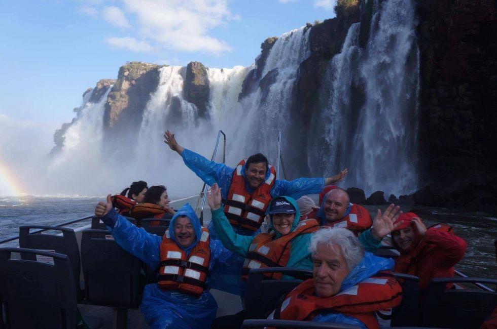 wodospad Iguacu w Brazylii