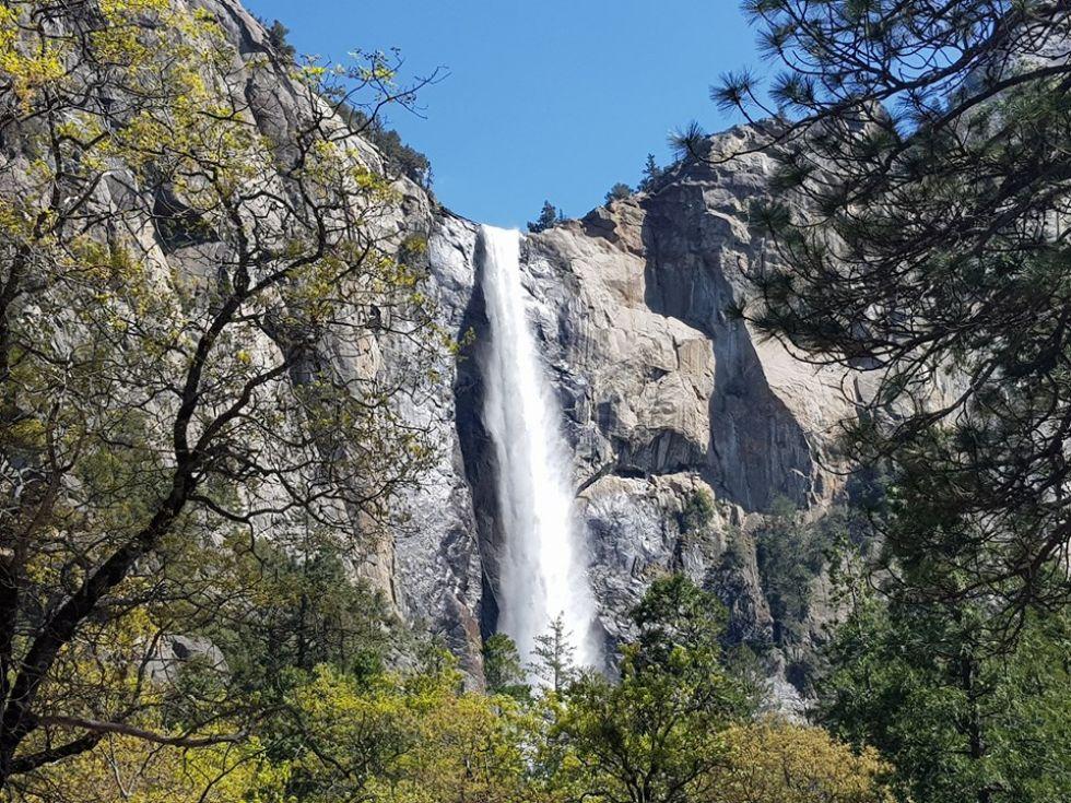 wodospady w parku yosemite wpisany na liste unesco