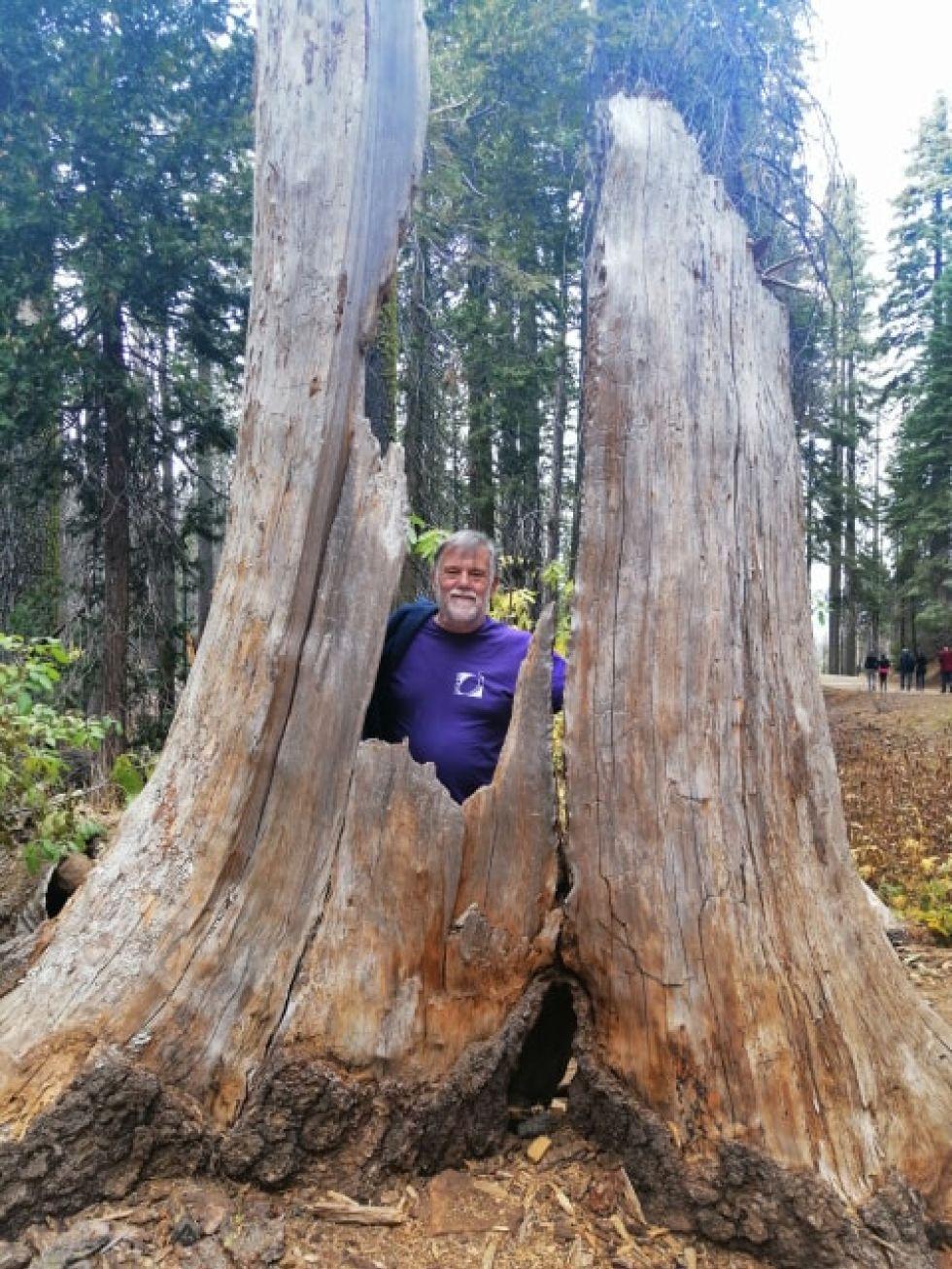 nasz turysta podczas zwiedzania parkow narodowych stanow zjednoczonych