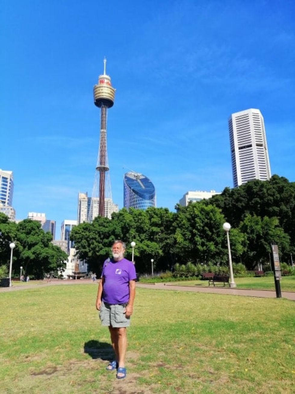 spacerem po singapurze