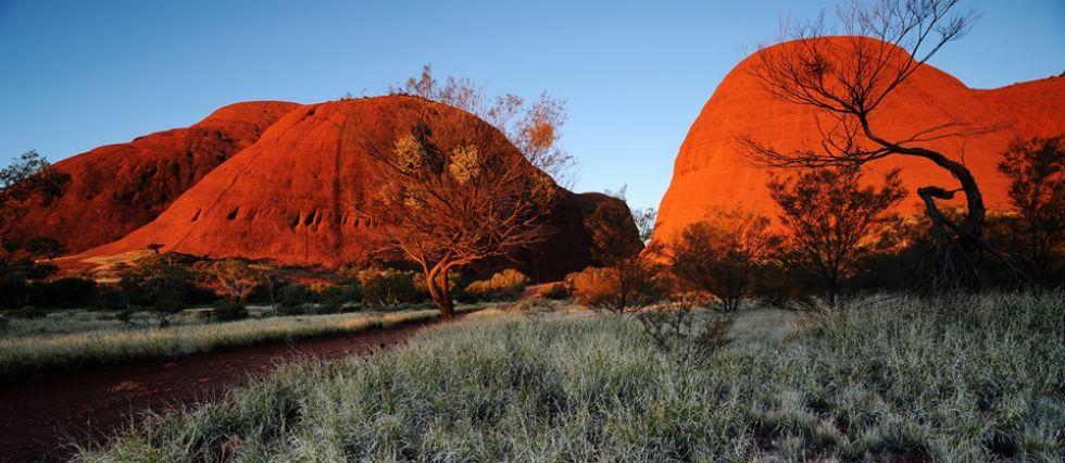 mount olgas formacje skalne australi