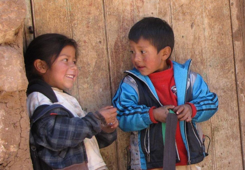 peruwianskie dzieci