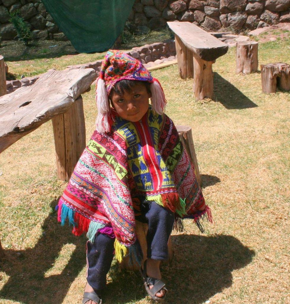 peruwianska dziewczynka