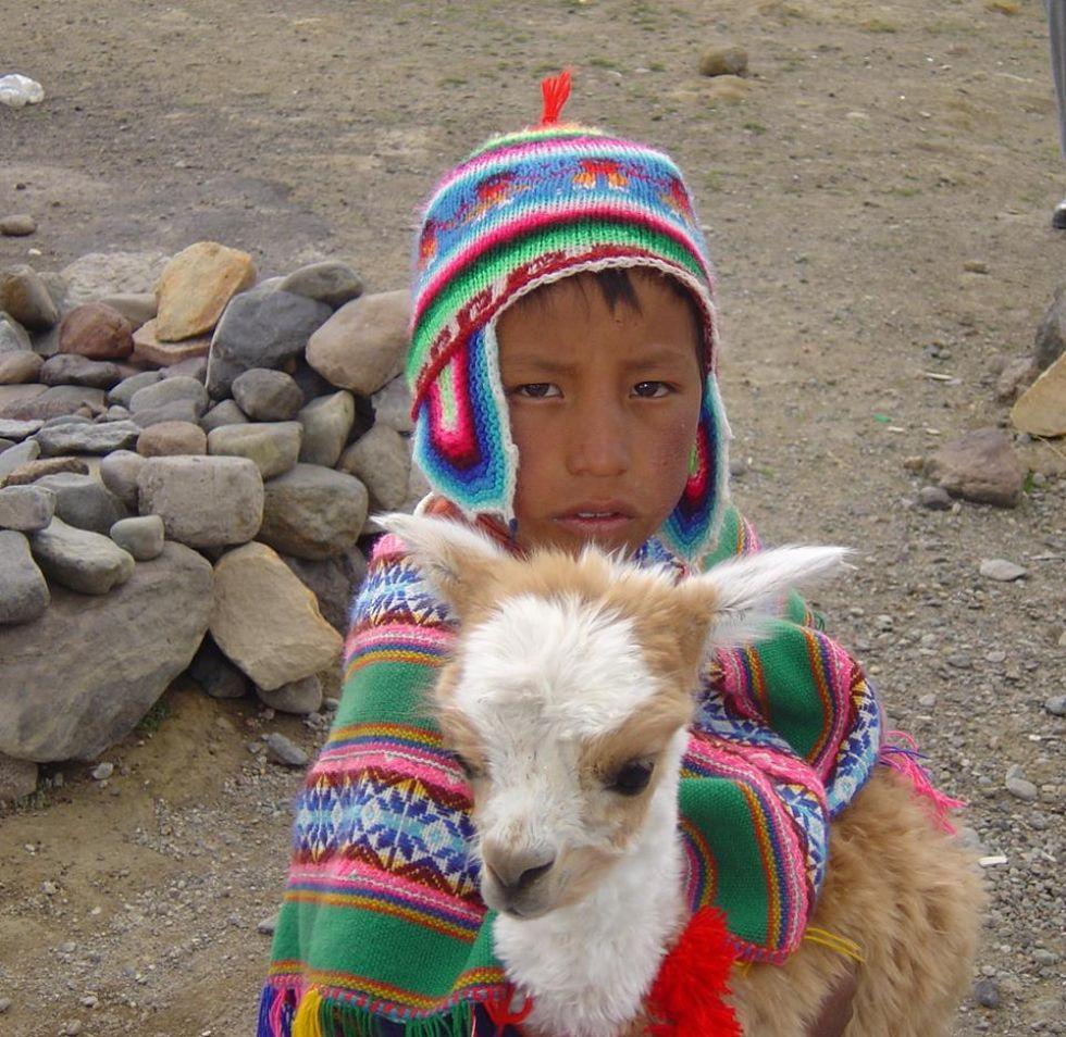 peruwianski chlopiec