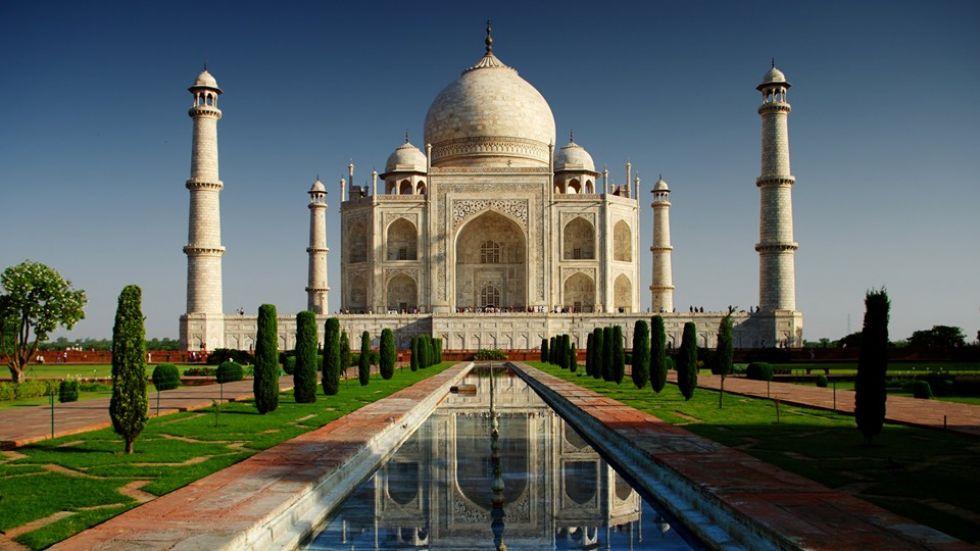 tadz mahal w indiach
