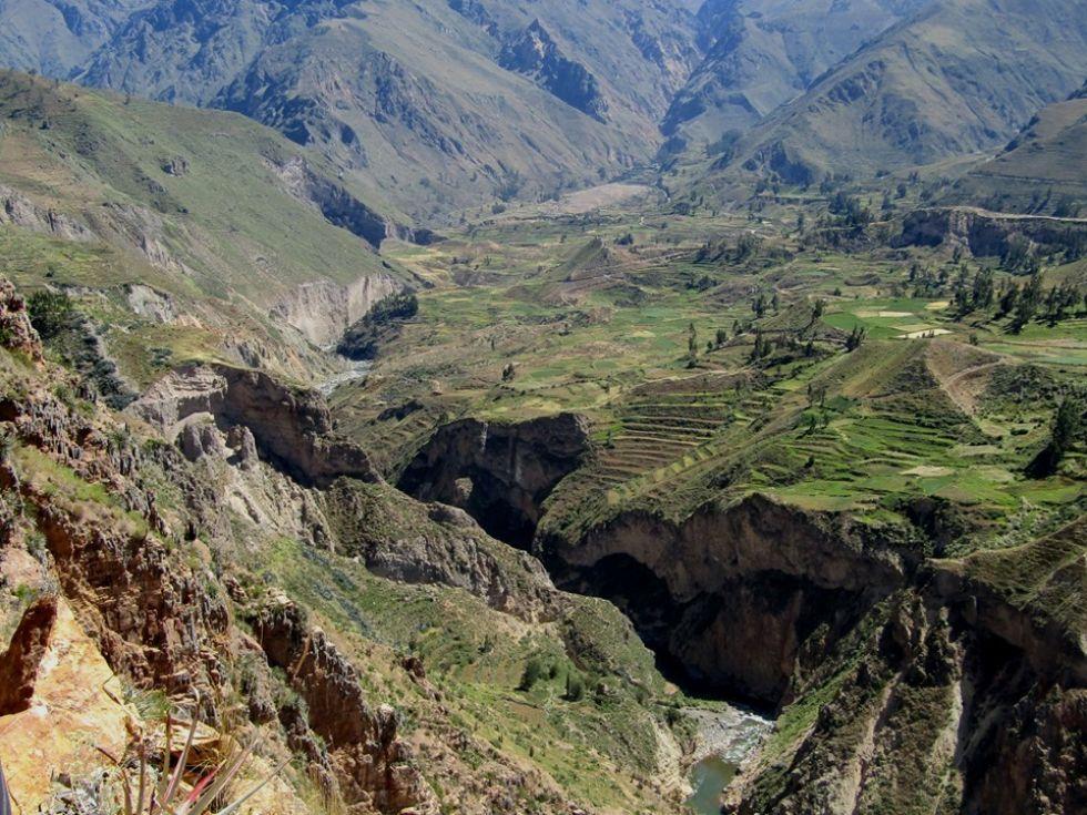 widoki podczas wyprawy do kanionu colca