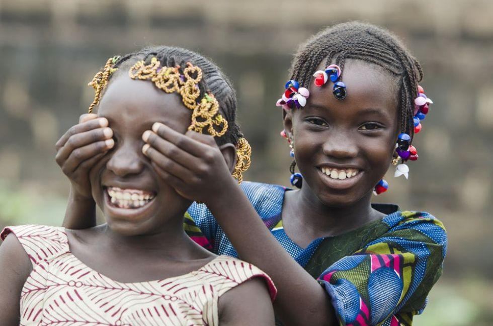 afrykanskie dzieci
