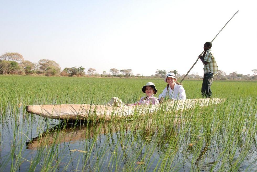 rejs po delcie Okawango