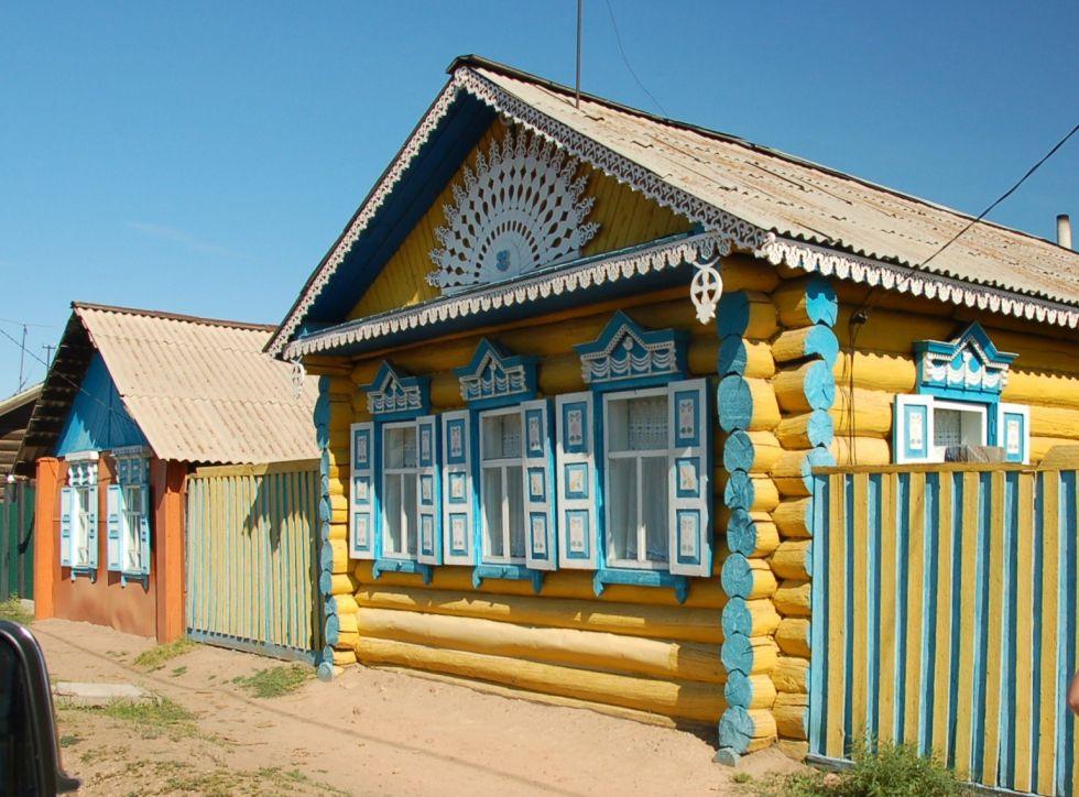 rosyjskie domy