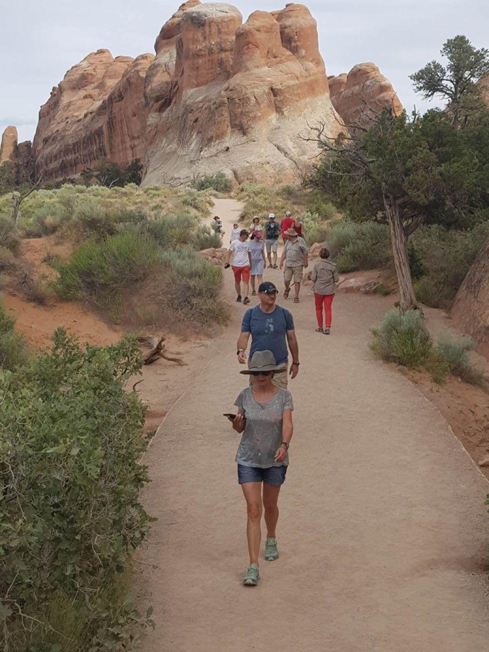 grupa turystow logos travel podczas wyprawy w Stanach Zjednoczonych