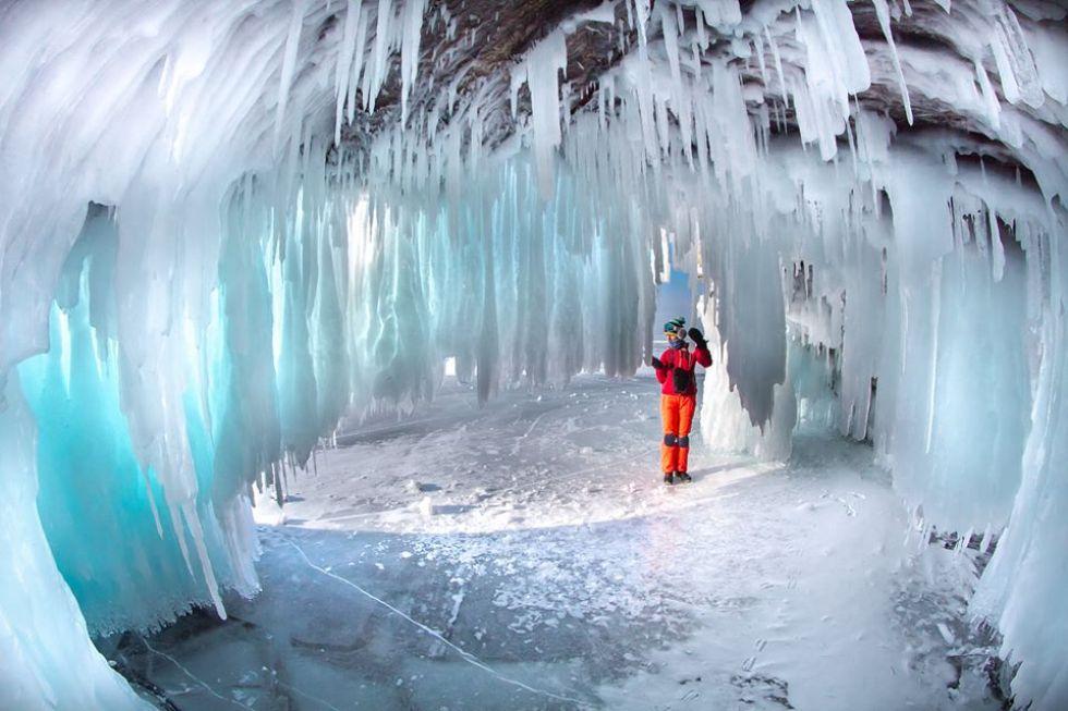 jaskinie lodowe na syberii