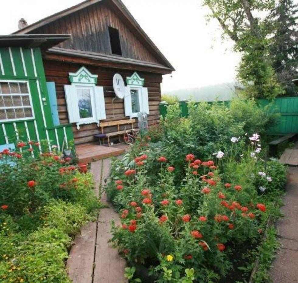 tradycyjne domy w rosji