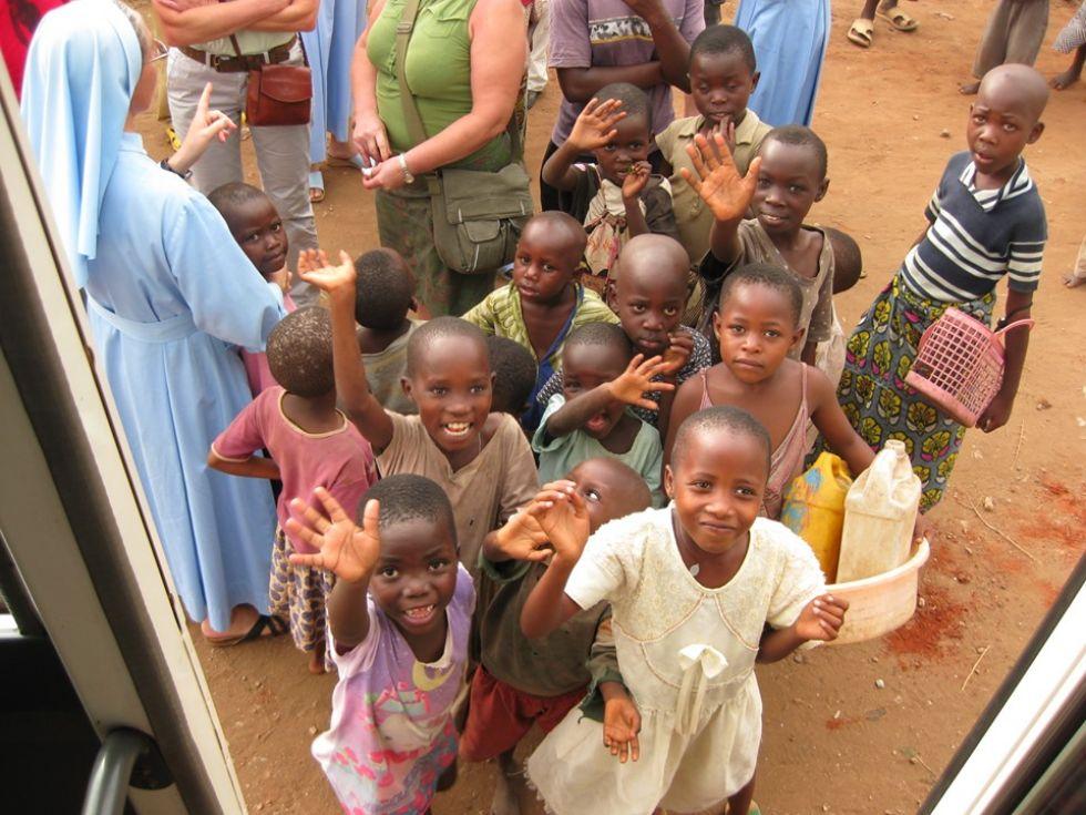 wioska w ugandzie