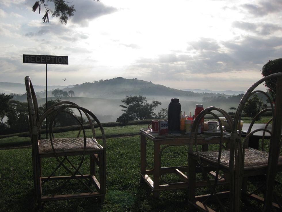 widoki podczas objazdu ugandy