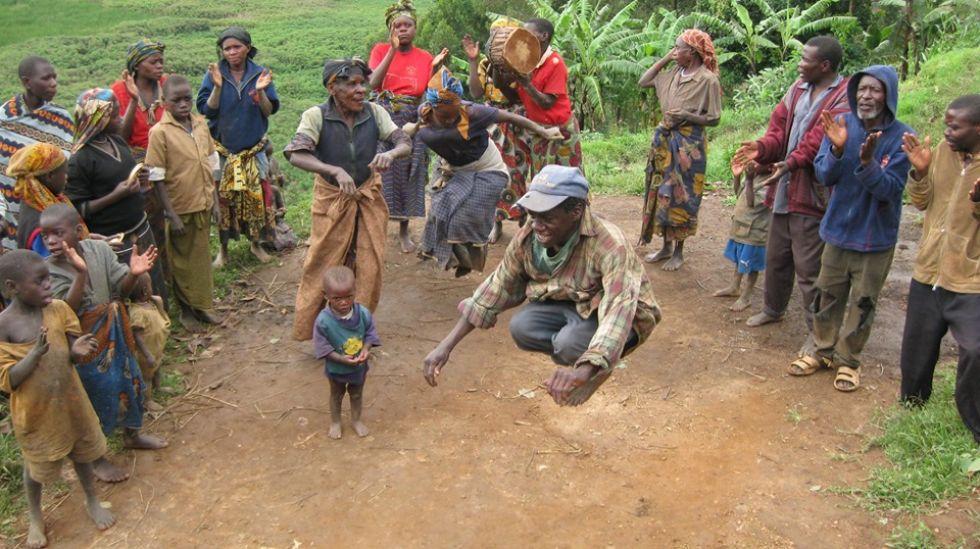 wizyta u plemienia batwa bardziej znanego jako pigmeje