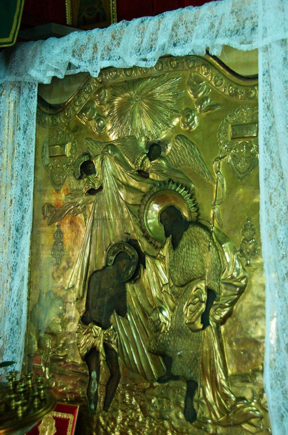 obraz z cerkwii rosyjskiej