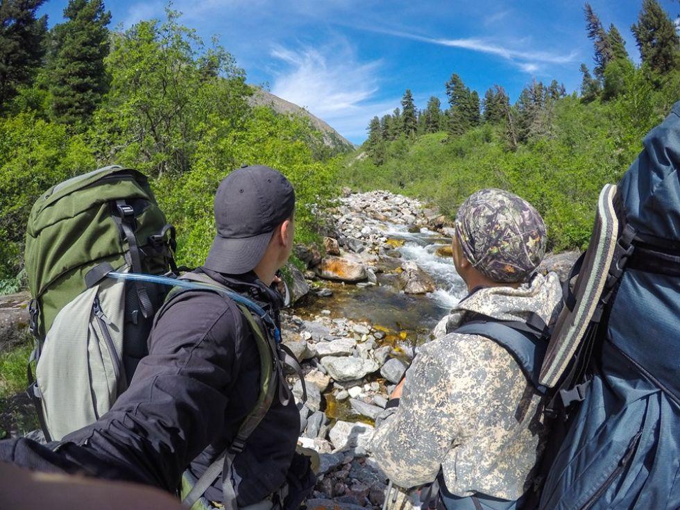 trekking w rosji