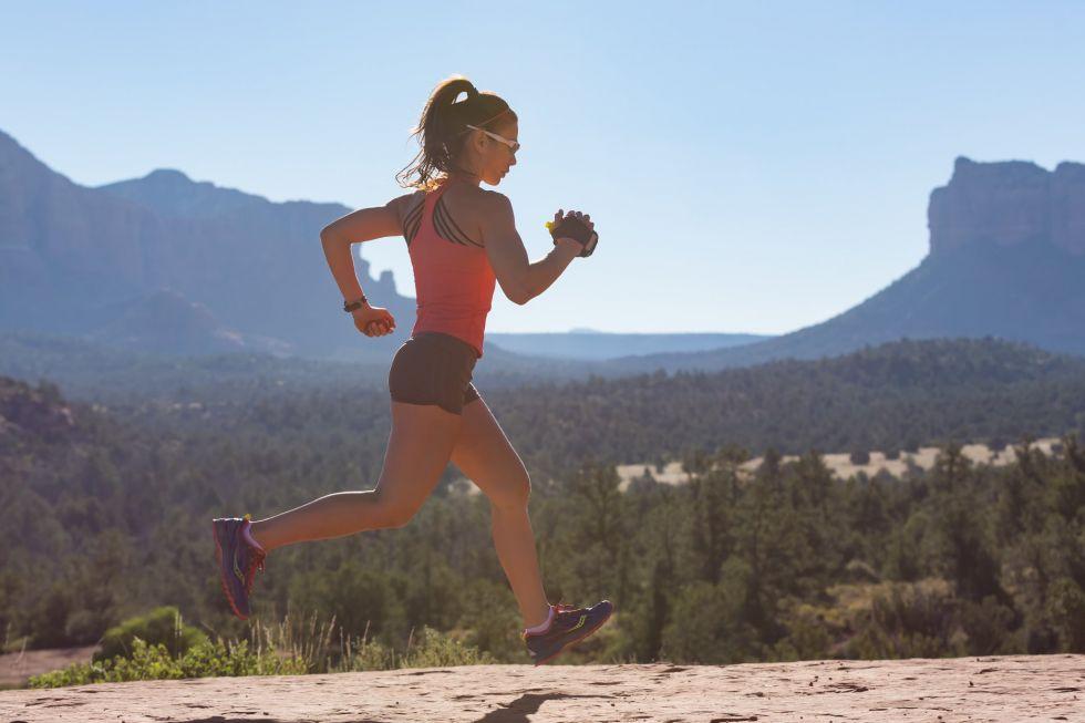 bieganie w amerykanskiej scenerii