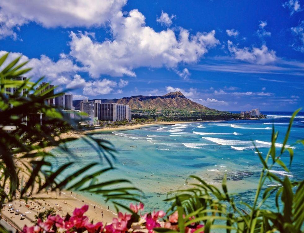 plaza waikiki w honolulu na hawajach w usa