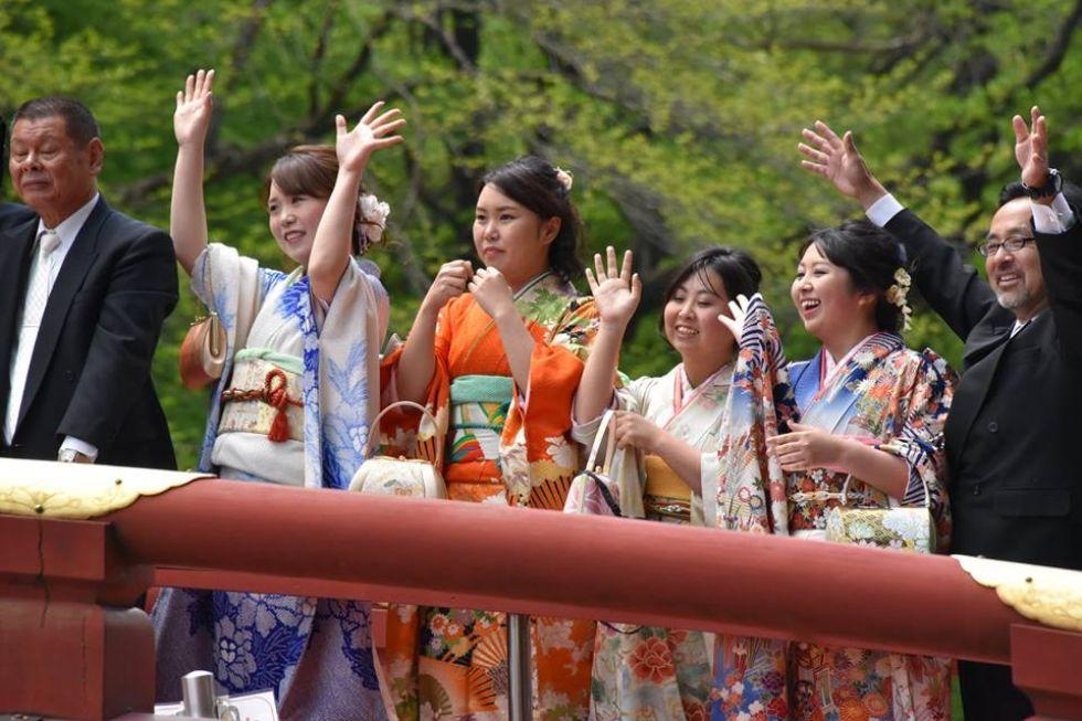 szczesliwi Japonczycy