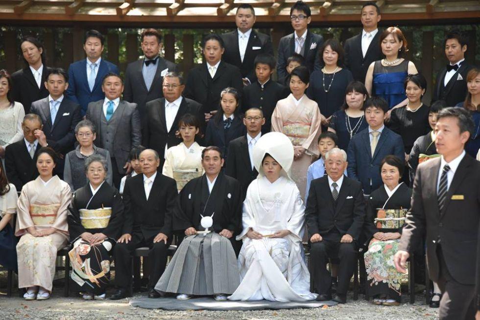 Obrzed weselny w Japonii