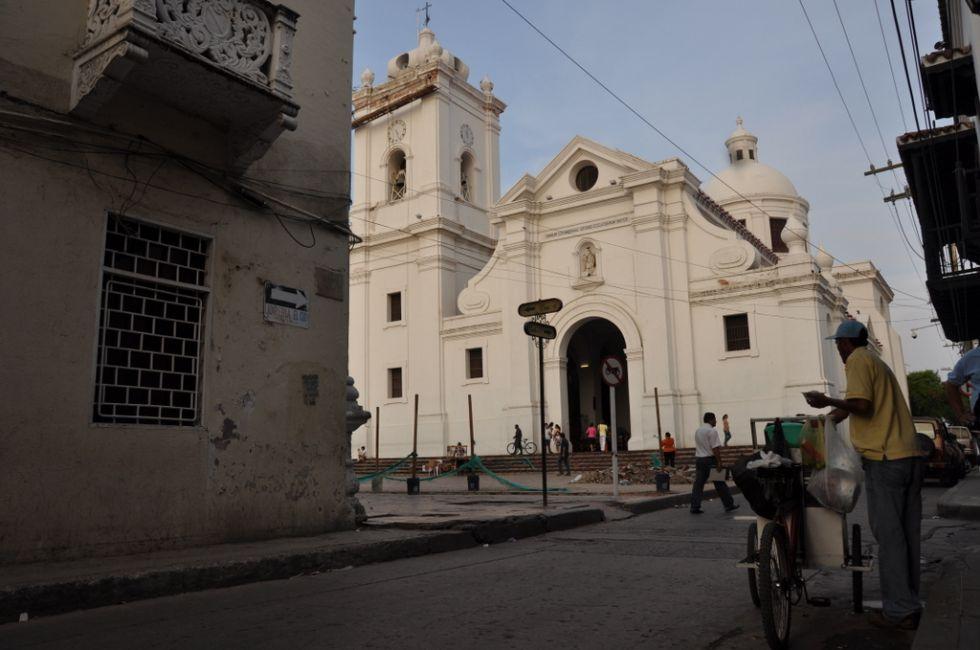 Ulicy miasta Santa Marta