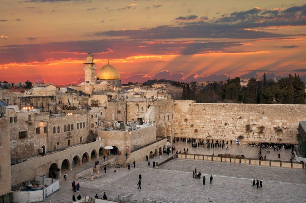 widok na jerozolime