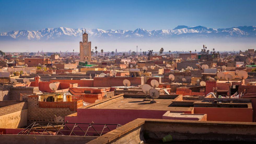 widok na marrakesz