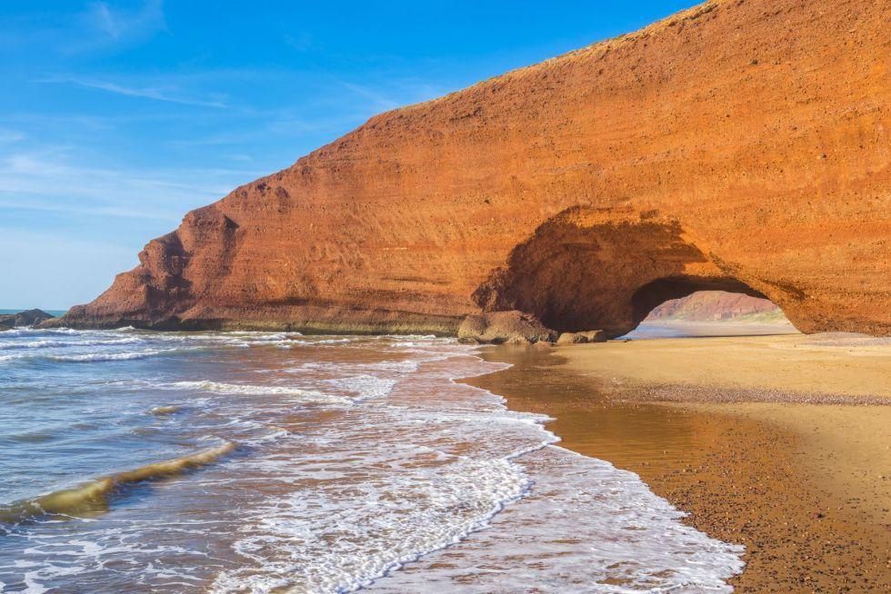 plaze w okolicach agadiru