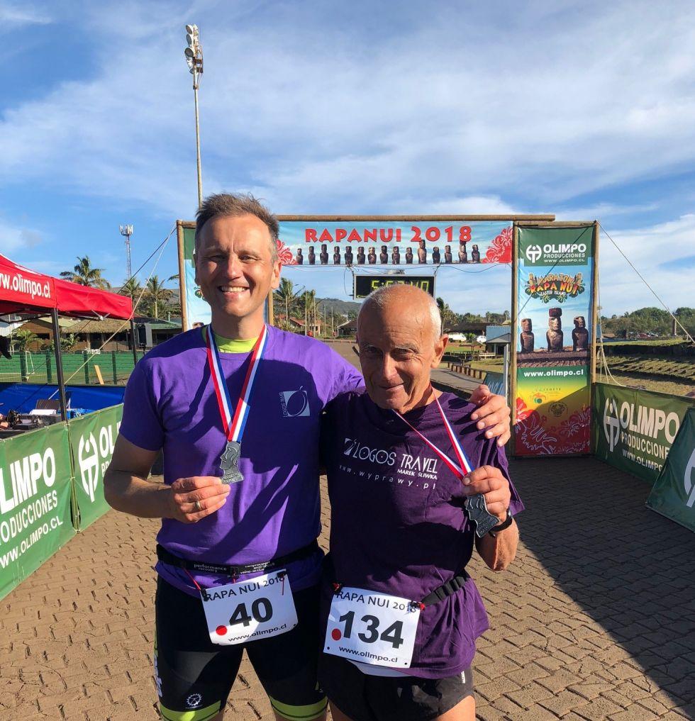 maraton w rapa nui na wyspie wielkanocnej